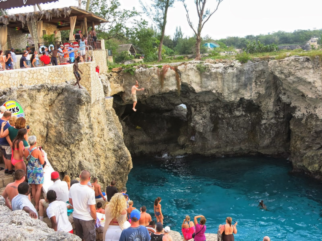 Ricks Cafe Negril Jamaica - Take The Jump at Rick's Café in Negril, Jamaica - Jamaican Tour Guide